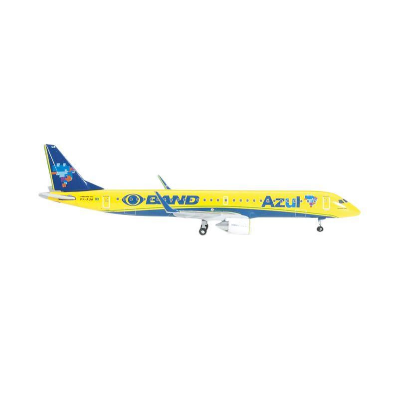 Herpa Azul Embraer E195 Canarinho Azul Diecast [1:500]