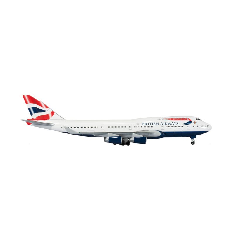 Herpa British Airways Boeing 747-400 Diamond Jubilee Diecast [1:500]