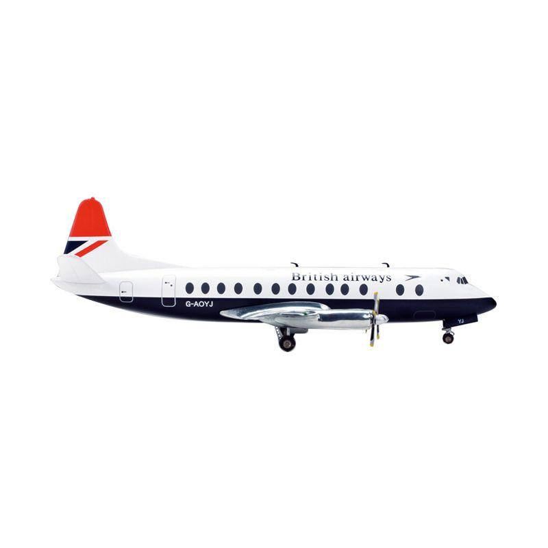 Herpa British Airways Vickers Viscount 800 Diecast [1:200]