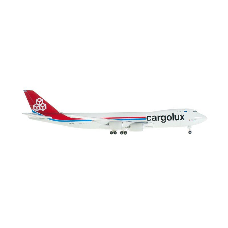 Herpa Cargolux Boeing 747-8F Diecast [1:500]