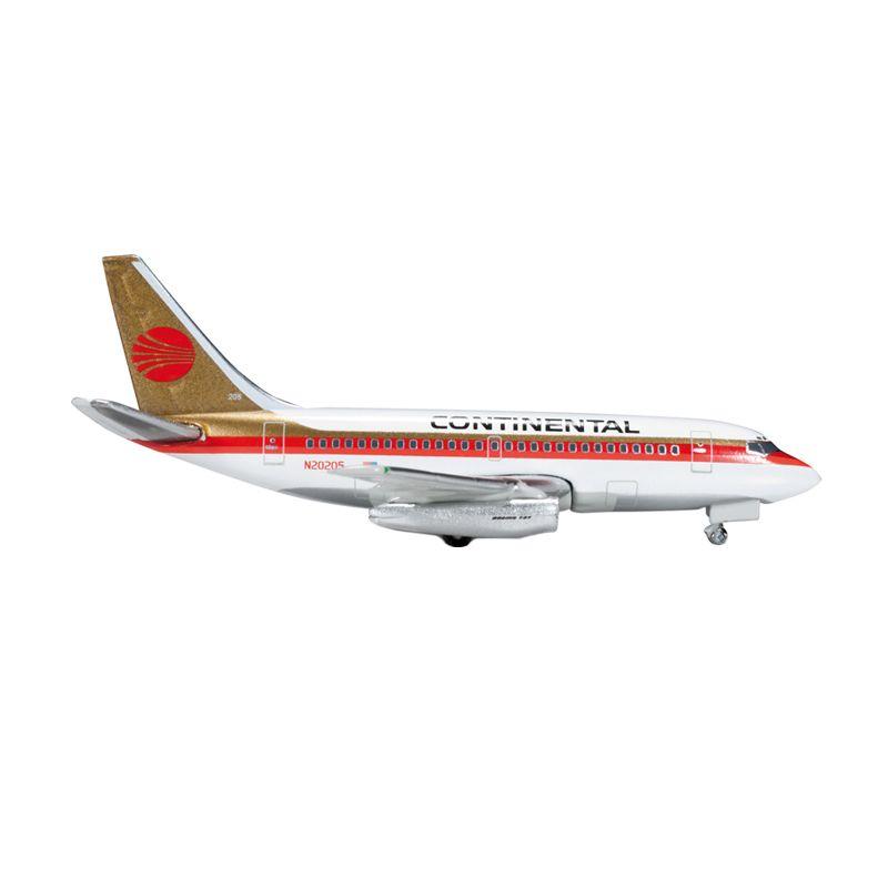 Herpa Continental Airlines Boeing 737-100 Diecast [1:500]