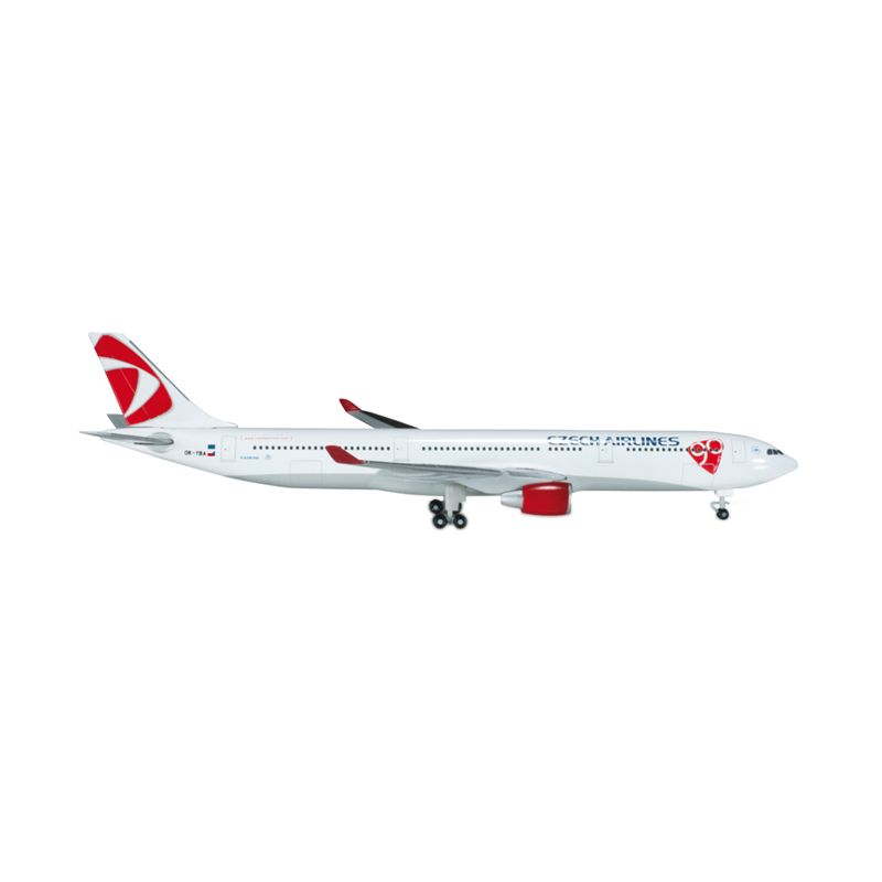 Herpa CSA Czech Airlines Airbus A330-300 Diecast [1:500]