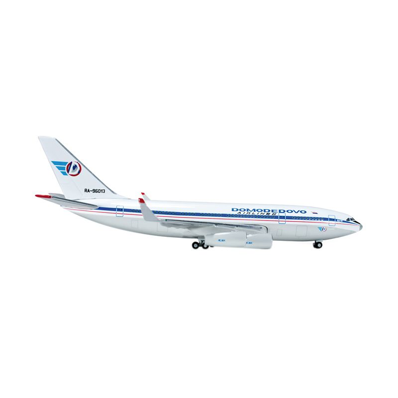 Herpa Domodedovo Airlines Ilyushin IL-96-300 Diecast [1:500]