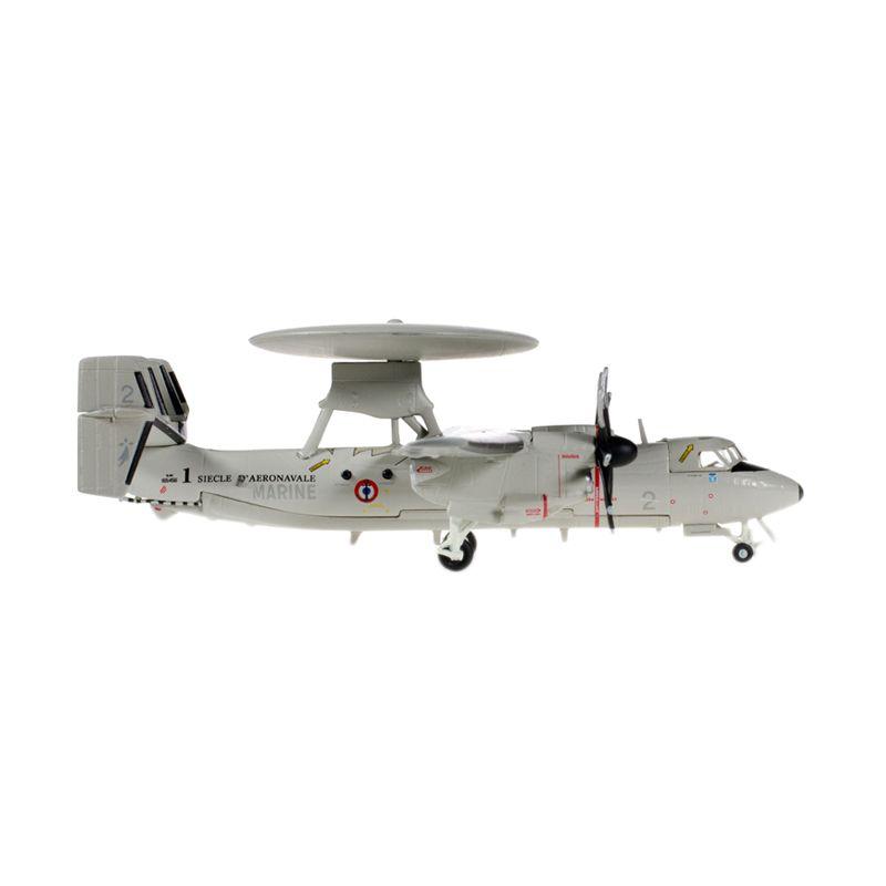 Herpa French Navy Grumman E-2C Hawkeye 4 Flotille Diecast [1:200]