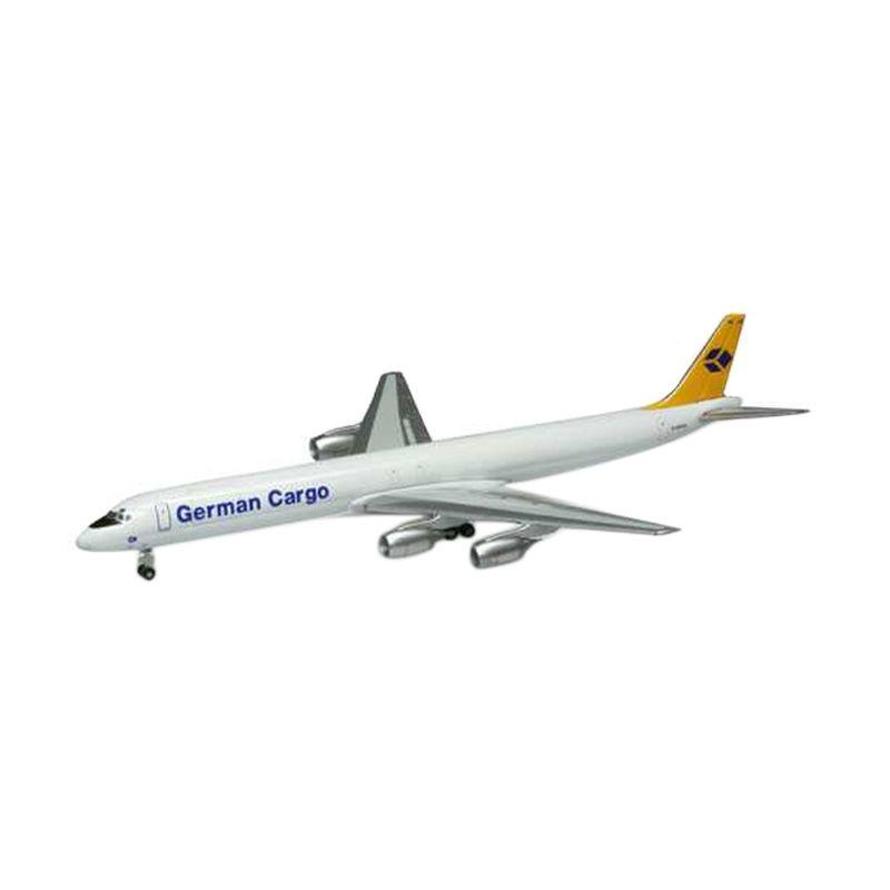 Herpa German Cargo Douglas DC-8-73F Diecast [1:500]