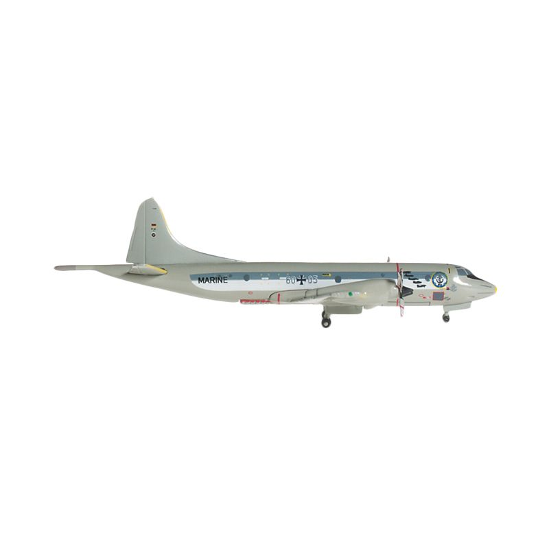 Herpa German Navy Lockheed P-3C Orion - Mfg3 50Th Anniversary Diecast [1:500]