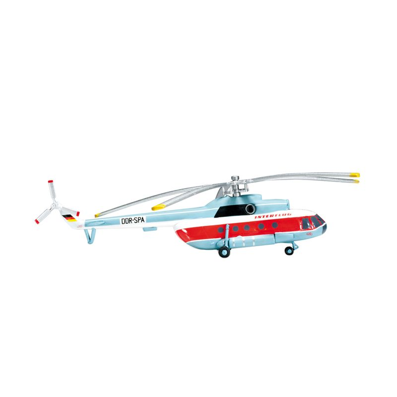Herpa Interflug Mil Mi-8T Diecast [1/200]