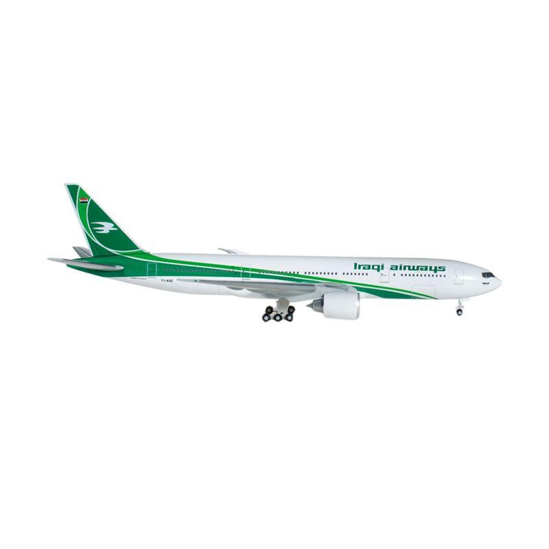 Herpa Iraqi Airways Boeing 777-200Lr Diecast [1:500]
