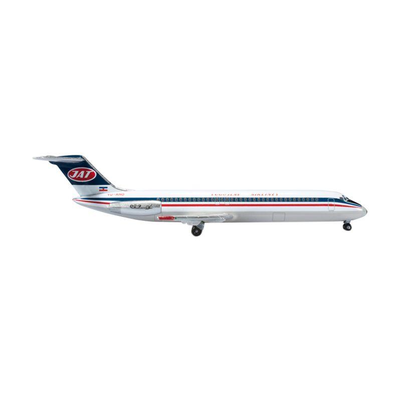 Herpa JAT-Yogoslav Airlines McDonnell Douglas DC-9-30 Diecast [1:500]