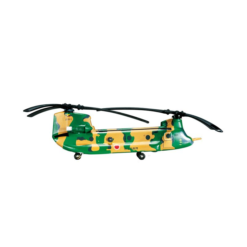 Herpa Jgsdf 12Th Brigade 12Th Helicopter Unit Boeing Vertol KawasakiCh-47J Chinook Diecast [1:200]