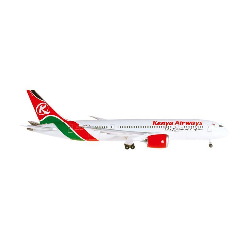 Herpa Kenya Airways Boeing 787-8 Dreamliner Diecast [1:500]