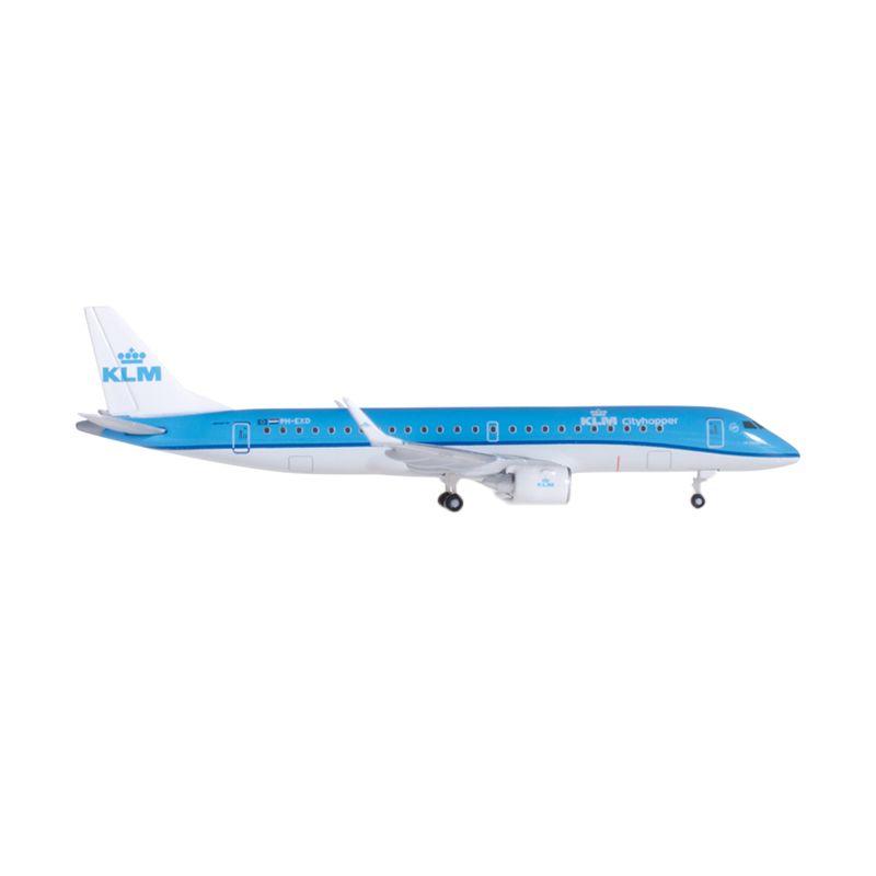 Herpa Klm Cityhopper Embraer E190 Diecast [1:500]