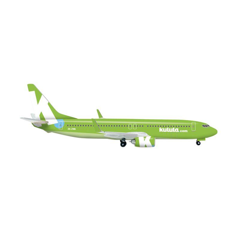 Herpa Kulula New 2012 Colors Boeing 737-800 Diecast [1:500]