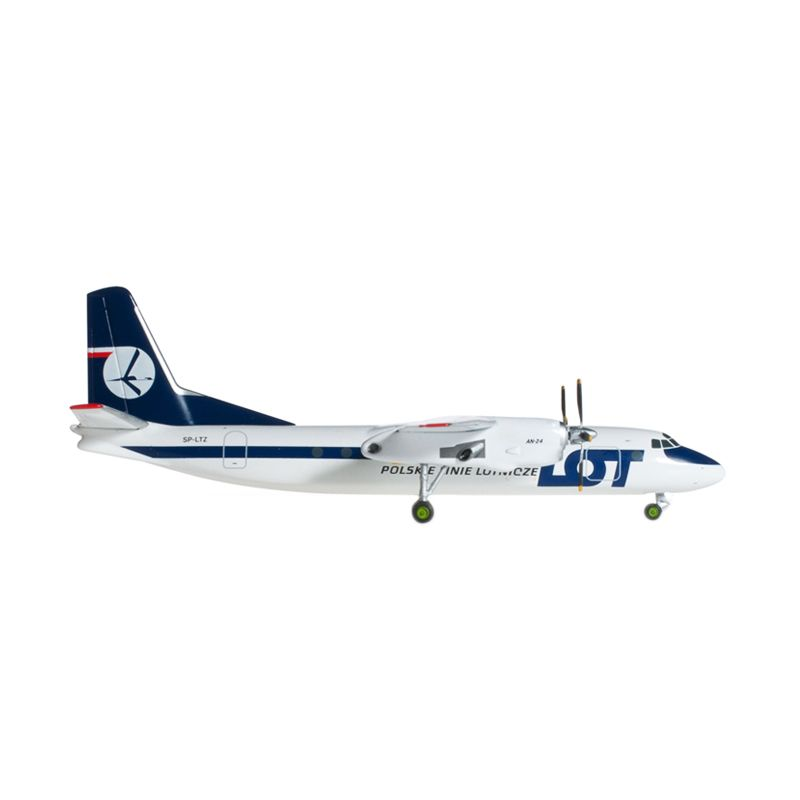 Herpa Lot Polish Airlines Antonov An-24B Diecast [1:200]
