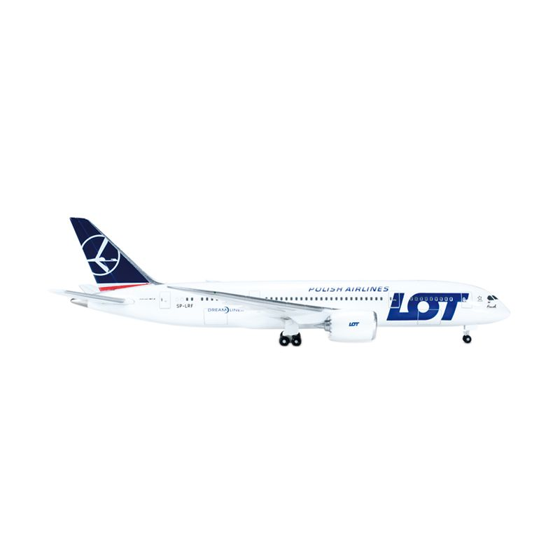 Herpa LOT - Polish Airlines Boeing 787-8 Dreamliner Diecast [1:500]