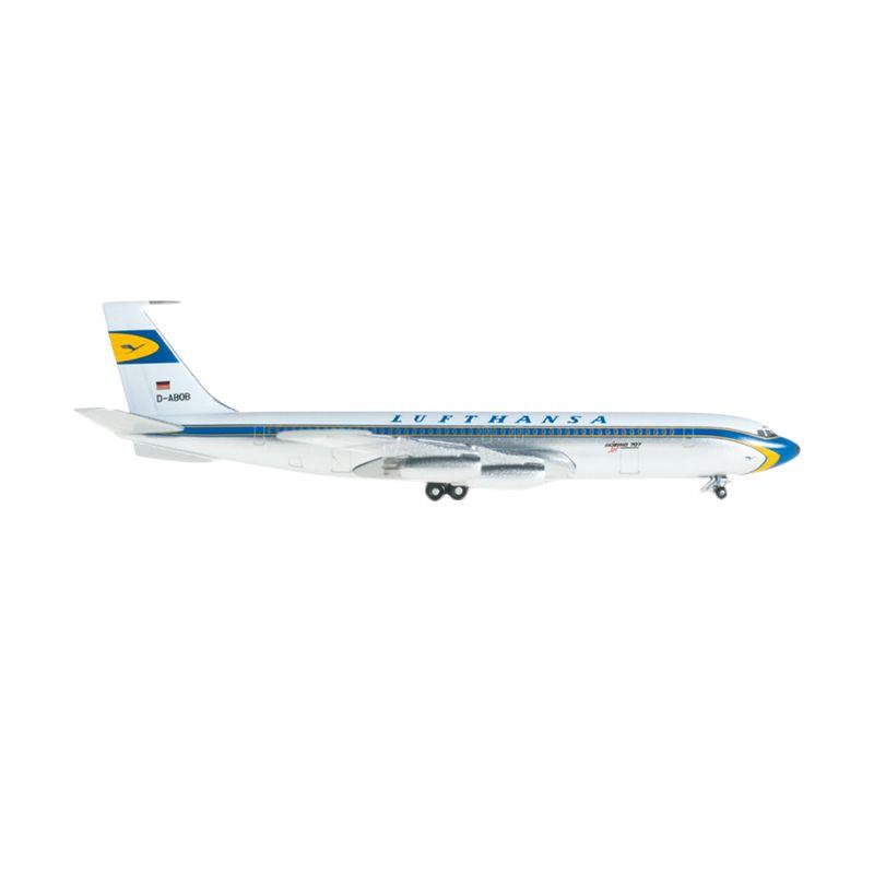 Herpa Lufthansa Boeing 707-400 Diecast [1:500]