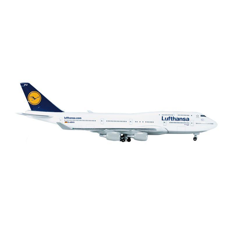 Herpa Lufthansa Boeing 747-400 Diecast [1:500]