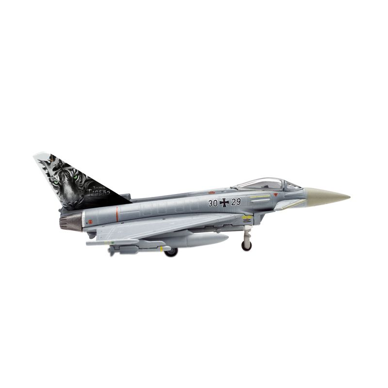Herpa Luftwaffe Eurofighter Typhoon Taktlwg74 Bavarian Tigers-Tiger Meet 2013 Diecast [1:200]
