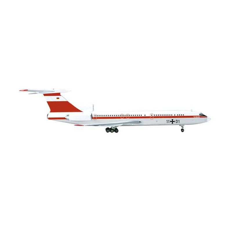 Herpa Luftwaffe Ltg 65 Tupolev Tu-154M Diecast [1:200]