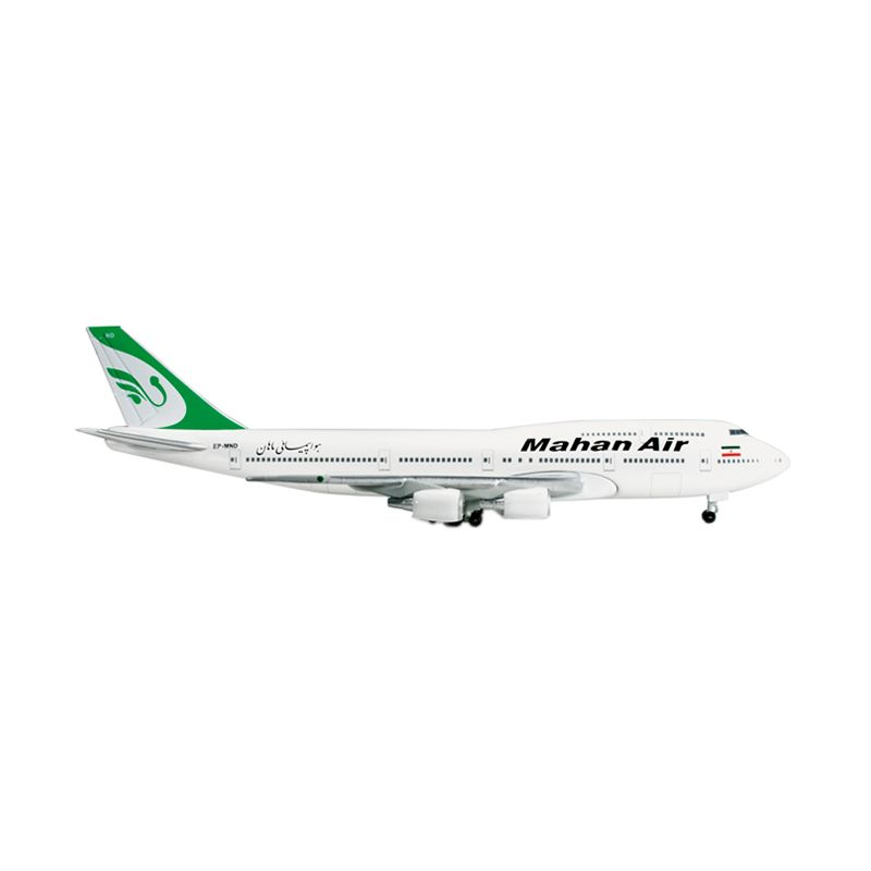 Herpa Mahan Air Boeing 747-300 Combi Diecast [1:500]