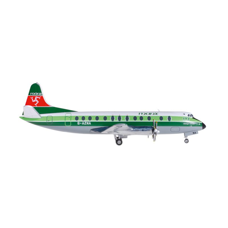 Herpa Manx Airlines Vickers Viscount 800 Diecast [1:200]
