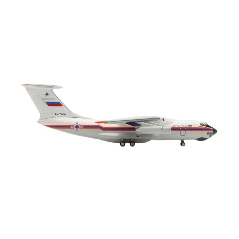 Herpa MCHS - Ministry of Emergency Situations Ilyushin IL-76 Diecast [1:500]
