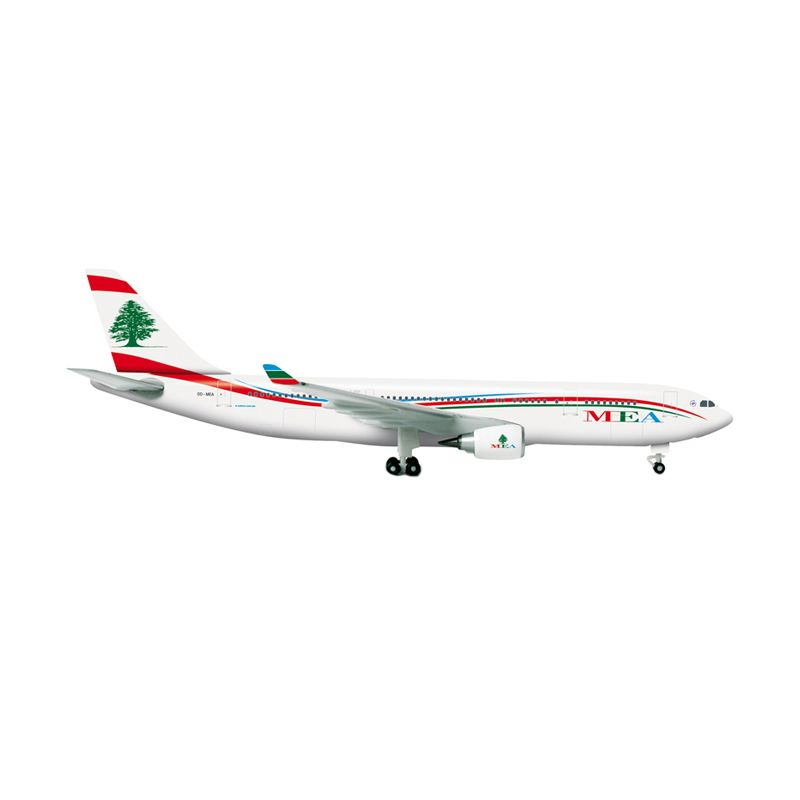 Herpa MEA - Middle East Airlines Airbus A330-200 Diecast [1:500]