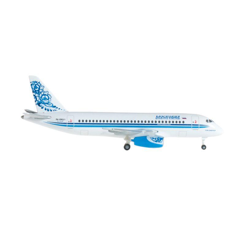 Herpa Moskovia Airlines Sukhoi Superjet 100 Diecast [1:500]