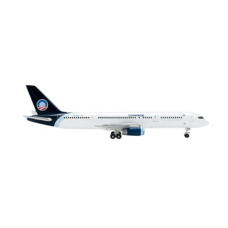 Herpa North American Airlines Beoing 757-200 Obama Campaign 2008 Diecast [1:500]