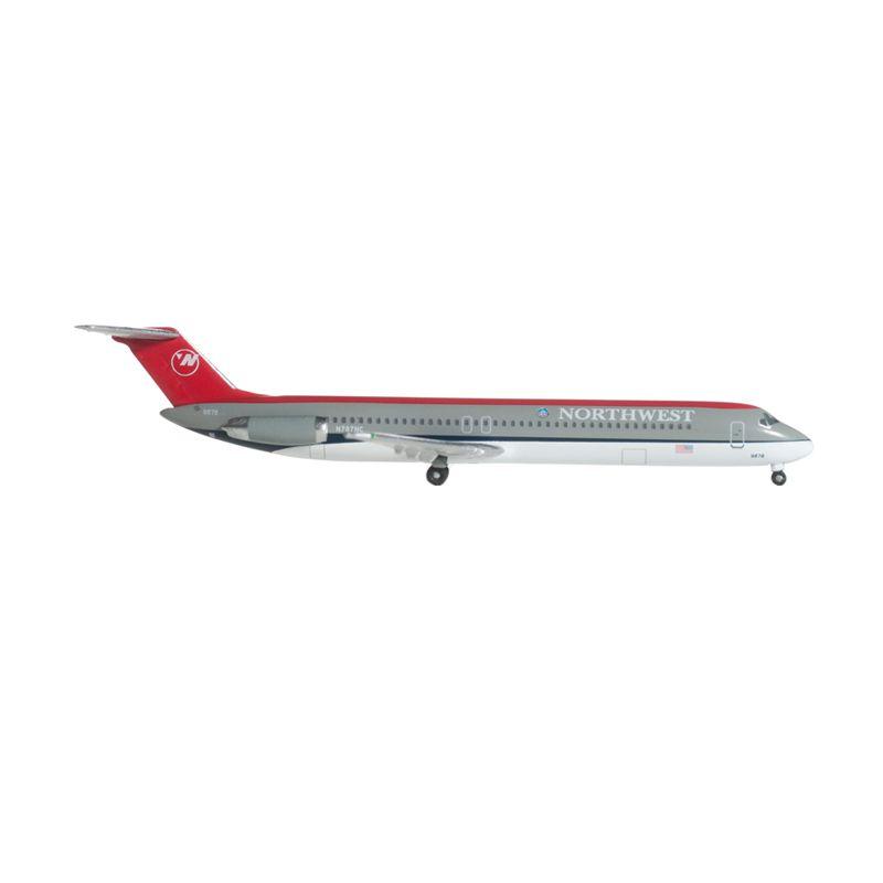 Herpa Northwest Airlines Douglas DC-9-50 Diecast [1:500]