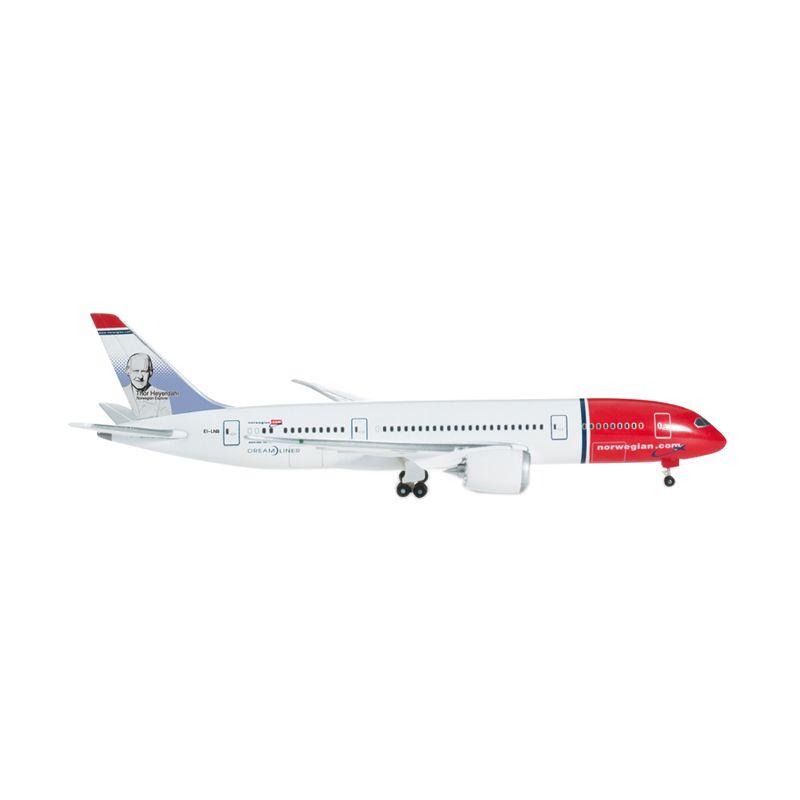 Herpa Norwegian Air Shuttle Boeing 787-8 Dreamliner Diecast [1:500]