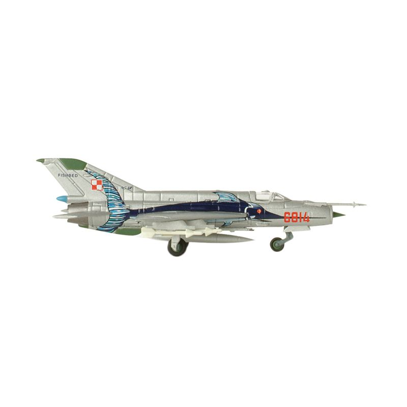 Herpa Polish Air Force 3 Mikoyan Mig-21Mf Diecast [1:200]