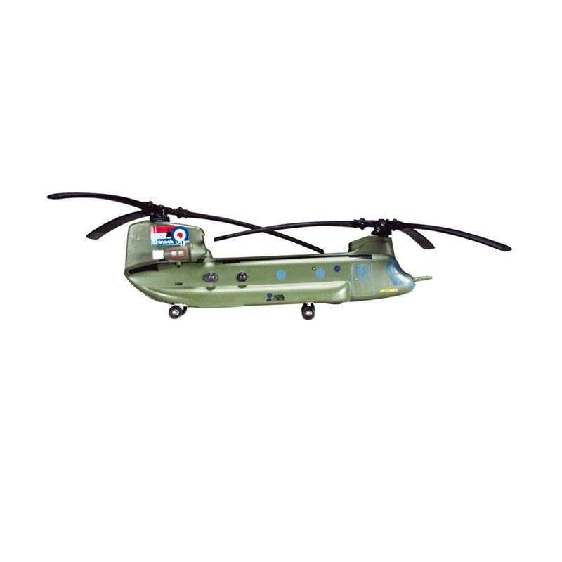 Herpa Royal Air Force Boeing Vertol Chinook Hc2A No. 27 Squadron - Chinook 30 Years Diecast [1/200]