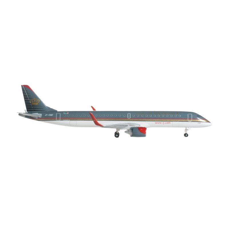 Herpa Royal Jordanian Airlines Embraer E195 Diecast [1:500]
