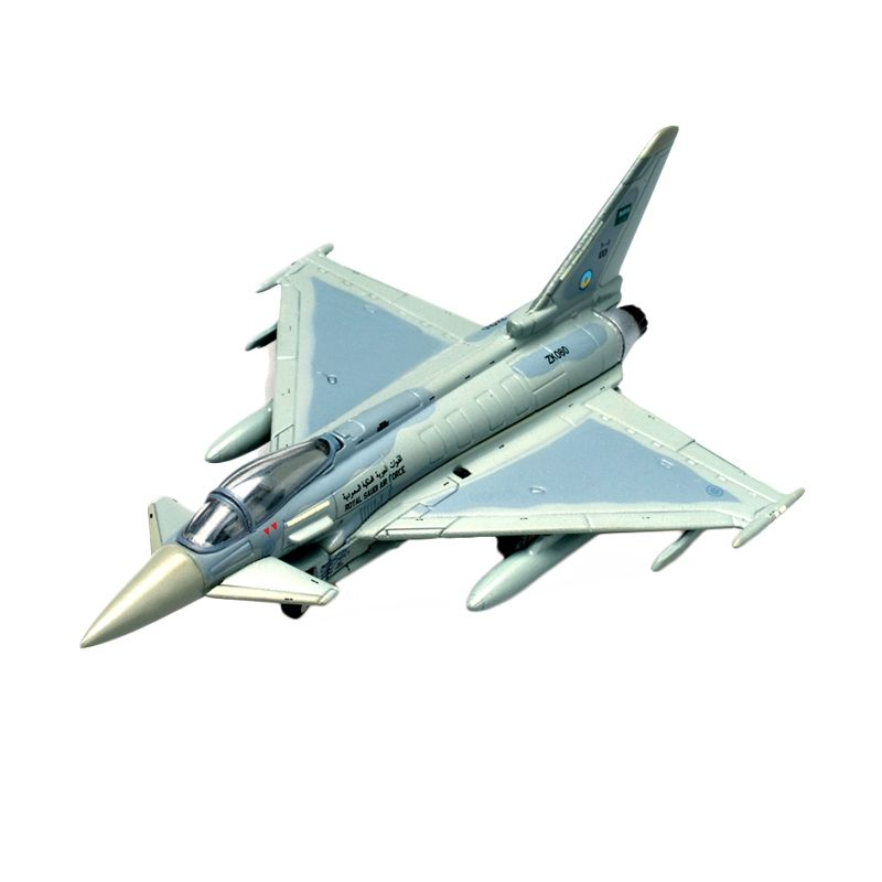 Herpa Royal Saudi Air Force Eurofighter Typhoon No 10 Squadron Diecast [1:200]