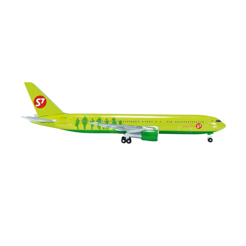 Herpa S7 Airlines Boeing 767-300 Diecast [1:500]