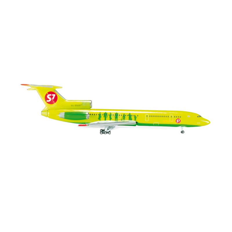 Herpa S7 Airlines Tupolev TU-154M Diecast [1:500]