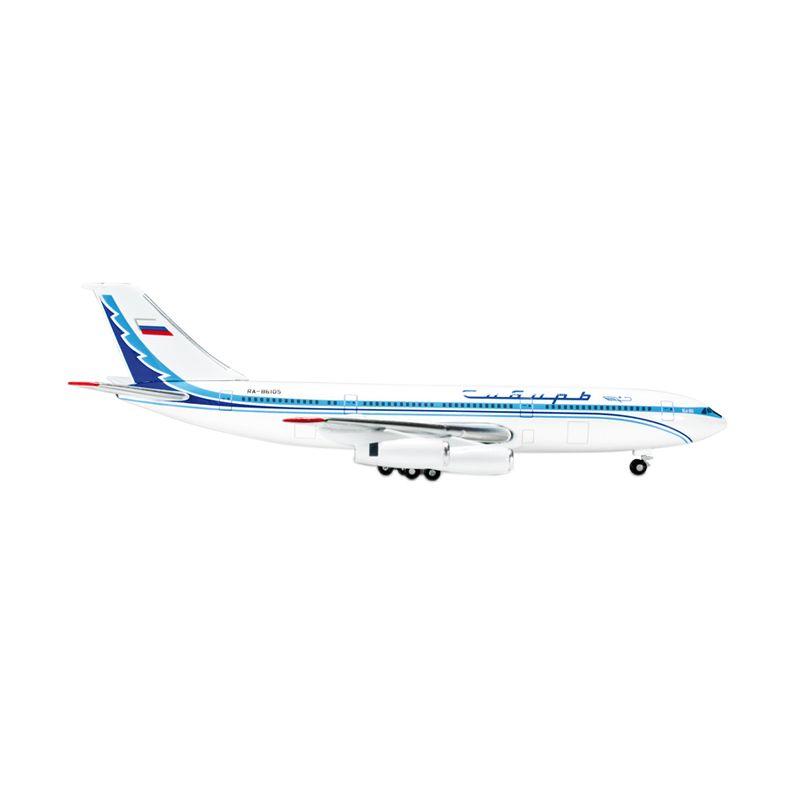 Herpa Siberia Airlines Ilyushin IL-86 Diecast [1:500]