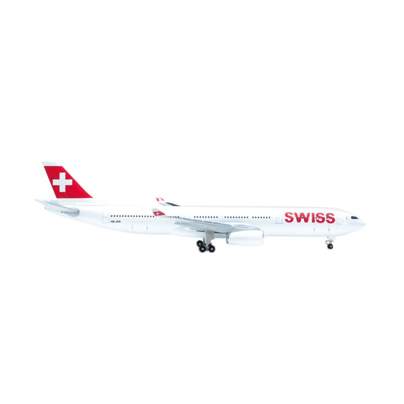 Herpa Swiss International Air Lines Airbus A330-300 Diecast [1:500]