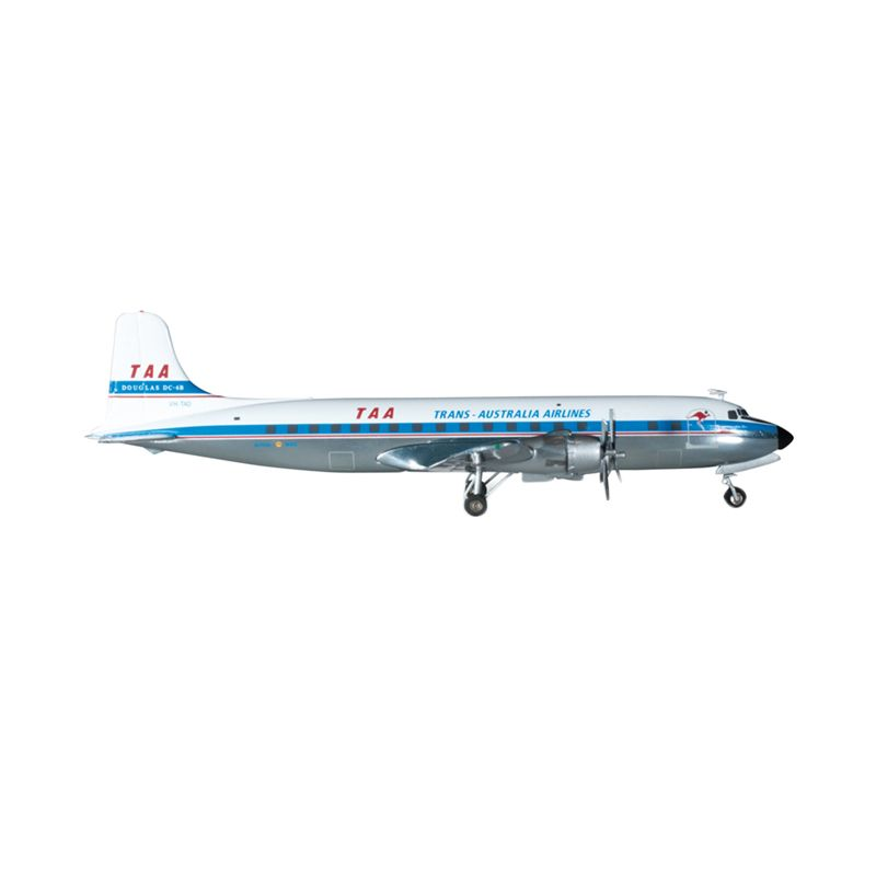 Herpa Taa Trans Australia Airlines Douglas Dc-6B Diecast [1:200]