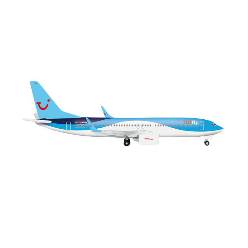 Herpa Tuifly Boeing 737-800 New 2014 Colors Diecast [1:500]