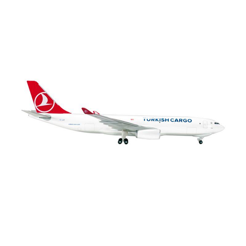 Herpa Turkish Cargo Airbus A330-200F Diecast [1:500]