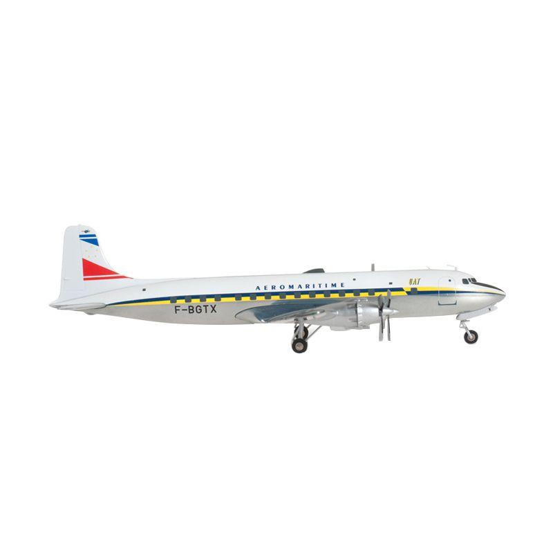 Herpa Uat - Union Aéromaritime De Transport Douglas Dc-6B Diecast [1:200]