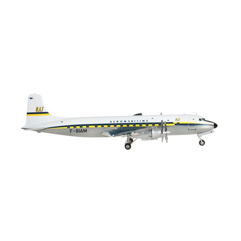 Herpa Uat - Union Aéromaritime De Transport Late Colors Douglas Dc-6B Diecast [1:200]