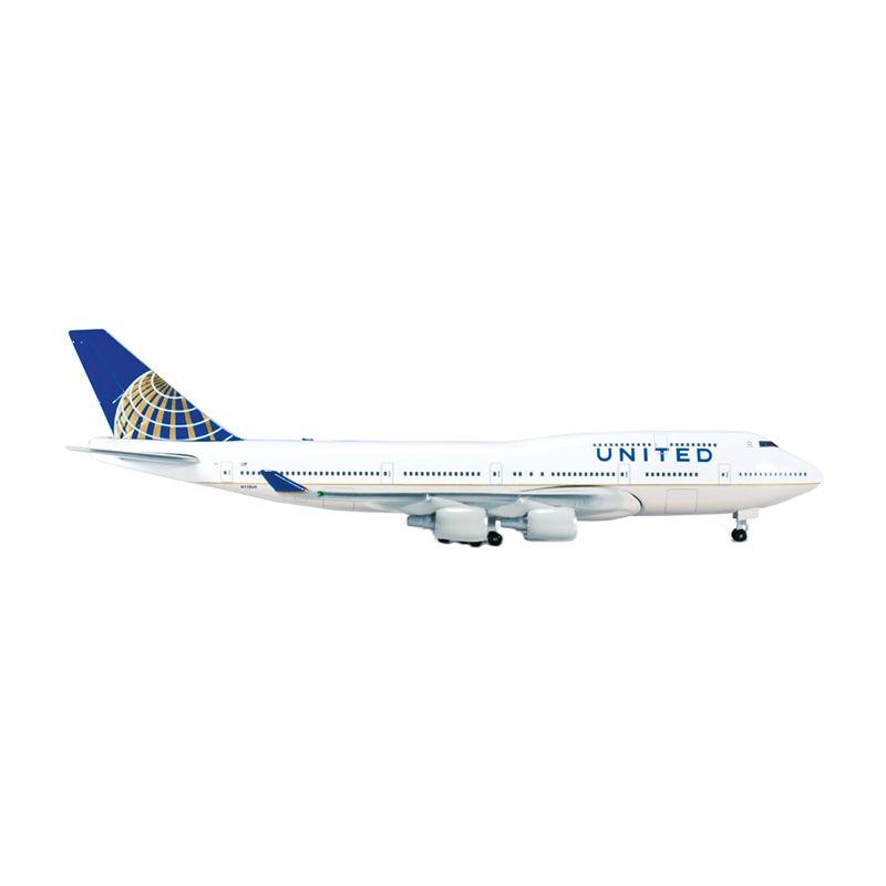 Herpa United Airlines Boeing 747-400 Diecast [1:500]