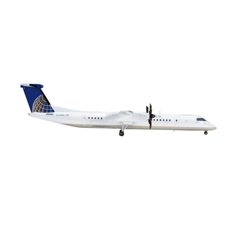 Herpa United Express Colgan Air Bombardier Q400 Diecast [1:200]