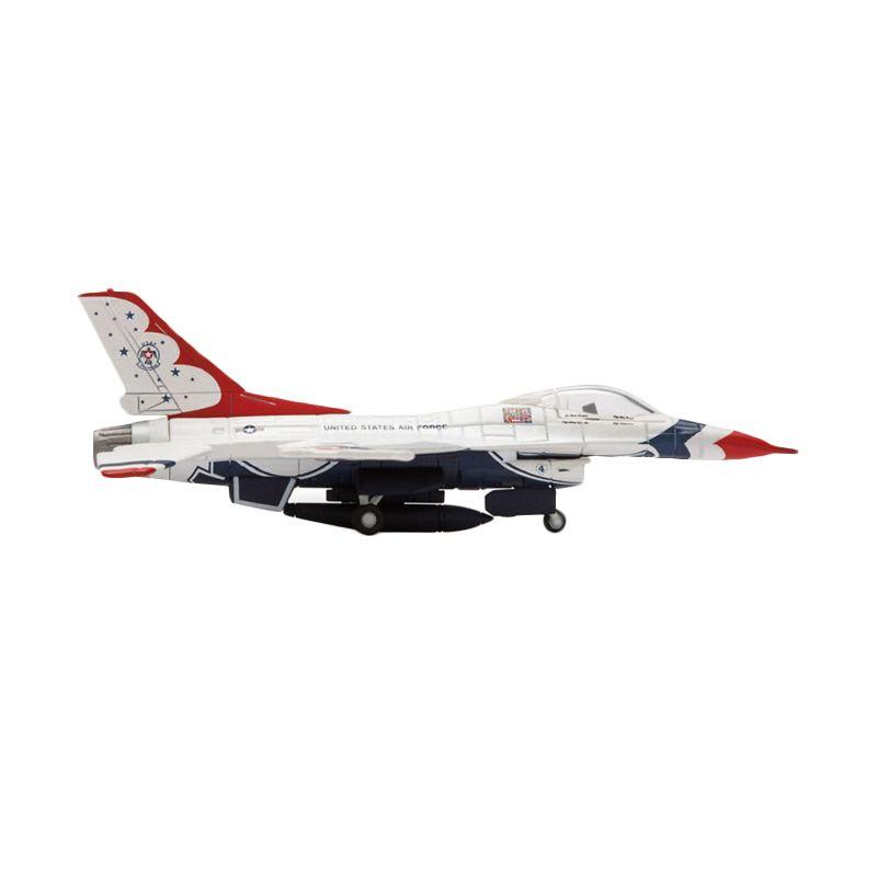 Herpa Us Air Force Lockheed Martin F-16C Fighting Falcon Thunderbirds Diecast [1:200]