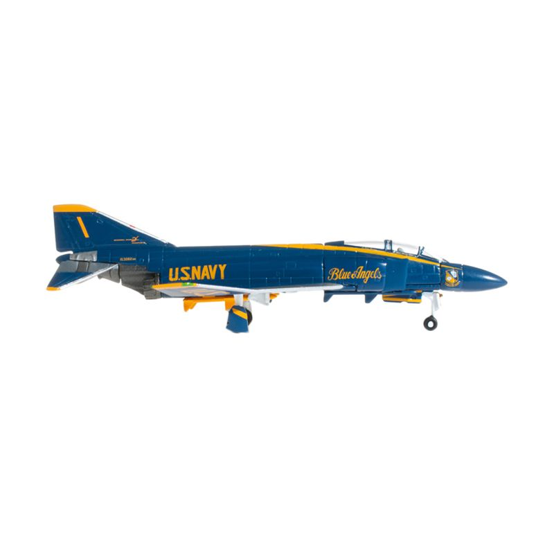 Herpa Us Navy Mcdonnell Douglas F-4J Phantom Ii Blue Angels No 1 Flight Leader Diecast [1:200]