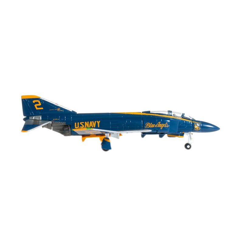Herpa Us Navy Mcdonnell Douglas F-4J Phantom Ii Blue Angels No 2 Right Wing Diecast [1:200]
