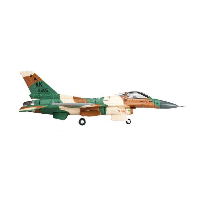 Herpa Usaf 18Th As - Flogger Color Scheme Lockheed Martin F-16C Fighting Falcon Diecast [1/200]